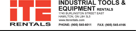 Industrial Tools and Equipment Rentals